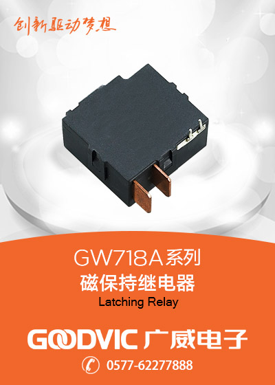 GW718A Series-Latching Relay