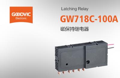 GW718C-100A 磁保持继电器