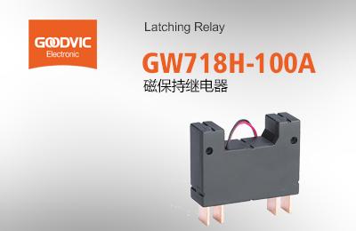 GW718H-100A 磁保持继电器